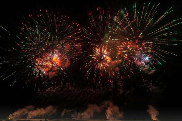Los mejores fuegos artificiales de año nuevo