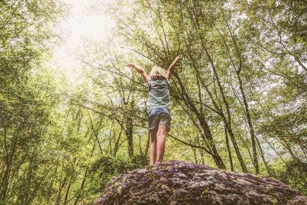 Importancia del contacto de los niños con la naturaleza