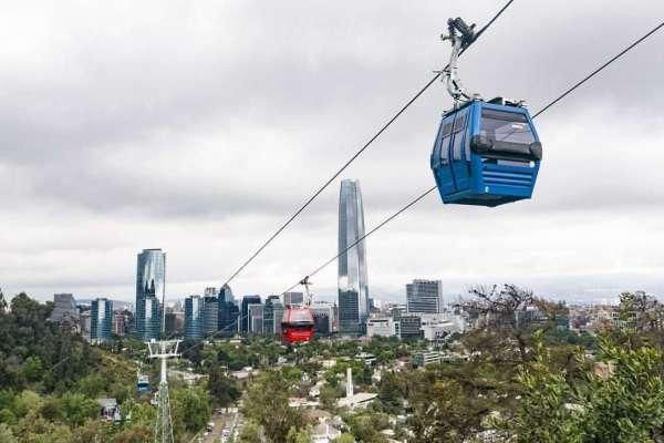 Teleférico del Parque Metropolitano en Santiago, descubre el recorrido en Entrekids