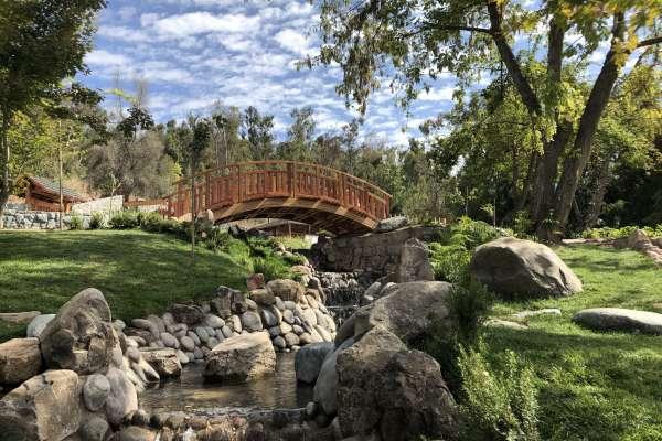 El Jardín Japonés del Parque Metropolitano en el Cerro San Cristóbal