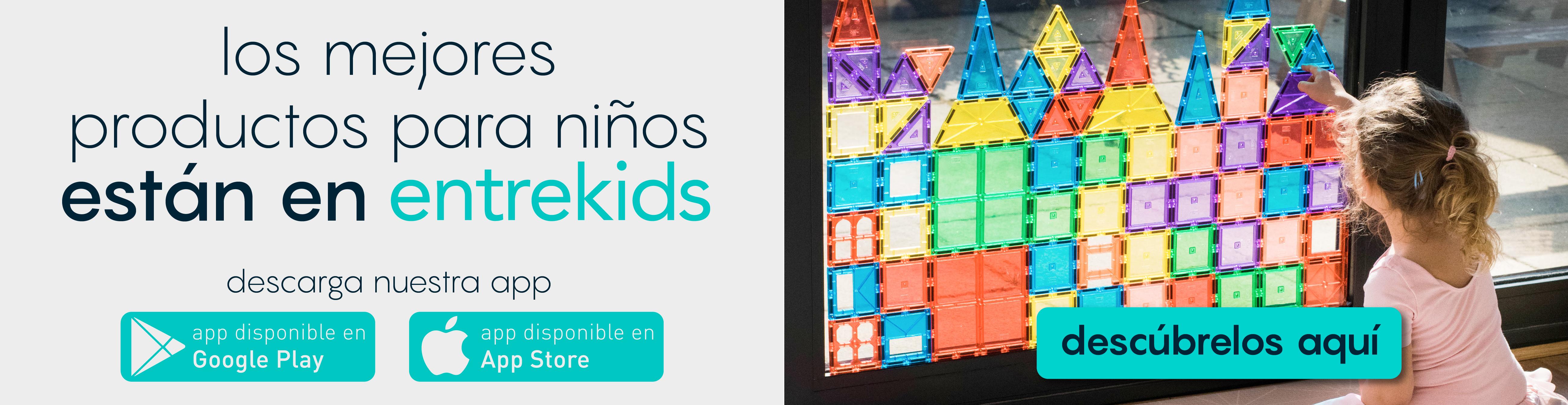 Los mejores productos para niños estan en Entrekids